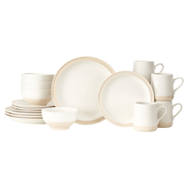 Dinnerware Set  sc 1 st  Kirklands : black square plate set - pezcame.com