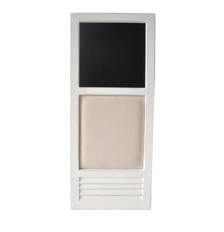 White Wood Frame Chalkboard and Pinboard | Kirklands