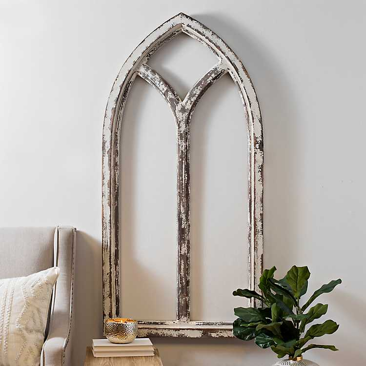 Shabby Cathedral Archway Plaque