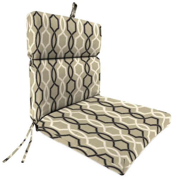 Marvelous Cestina Tuxedo Outdoor Dining Chair Cushion Kirklands Bralicious Painted Fabric Chair Ideas Braliciousco