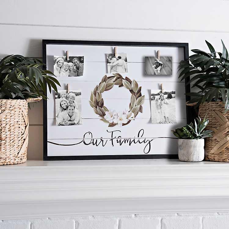 Family Magnolia Clip Collage Frame | Kirklands