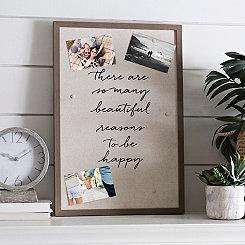 Magnetic Linen Board Collage Frame
