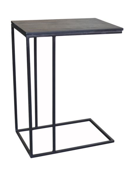 Lovely Brennan Slate And Metal C Table