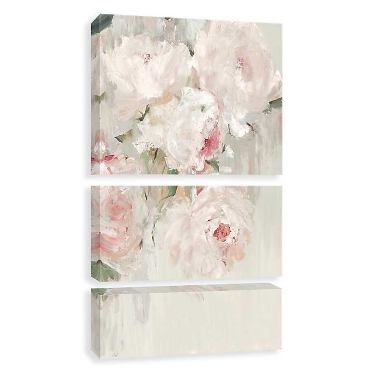 Big Bouquet Canvas Art Prints Set Of 3