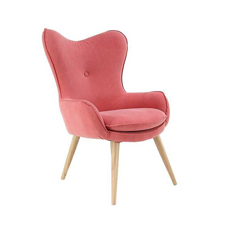 Outstanding Contemporary Light Orange Accent Chair Machost Co Dining Chair Design Ideas Machostcouk