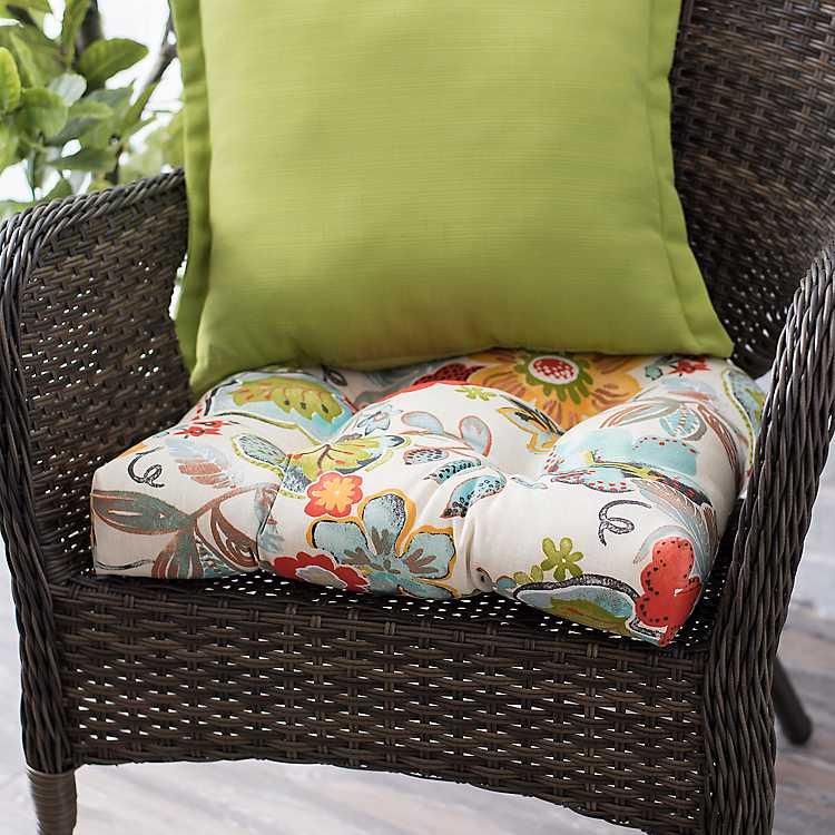 Alatriste Fl Outdoor Seat Cushion