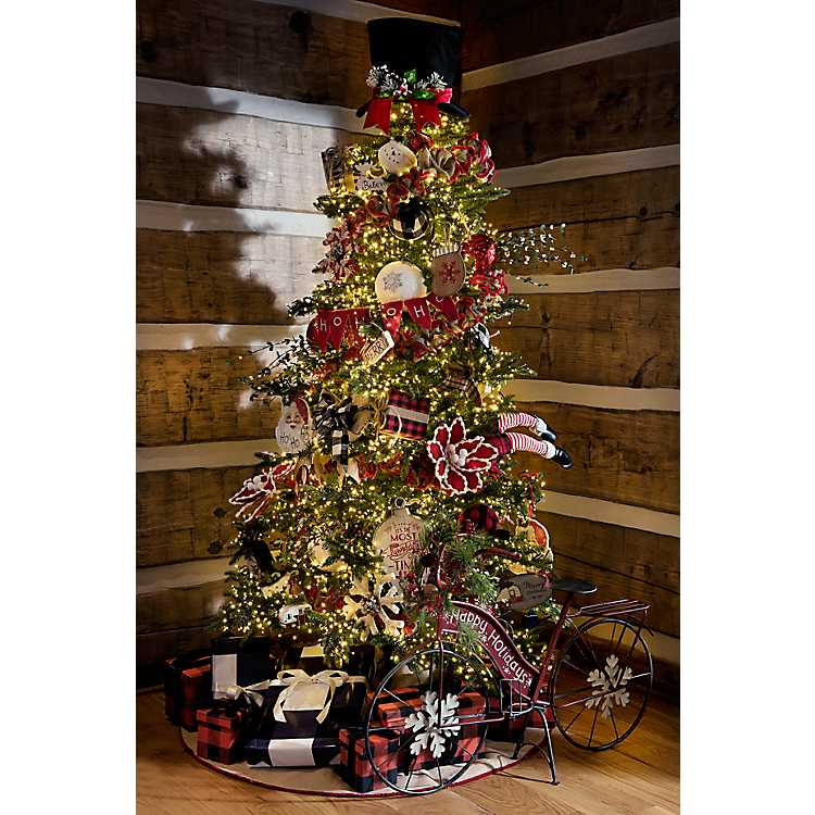 Images Of Christmas Trees.7 Ft Light Cluster Led Christmas Tree
