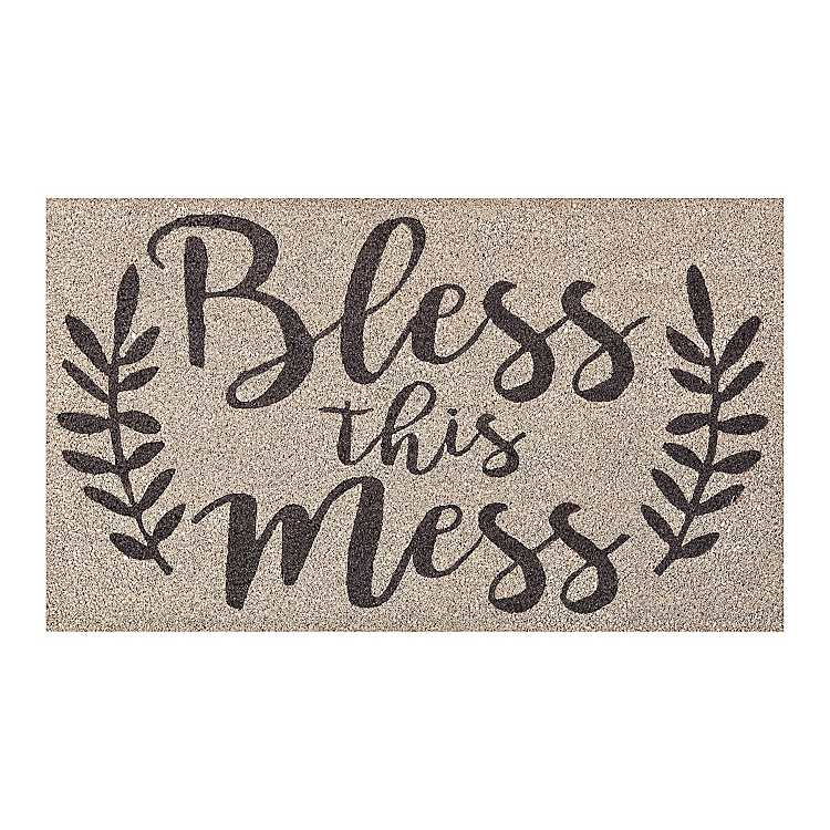 09a466592956c Product Details Bless this Mess Doormat
