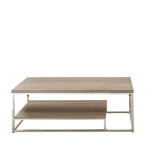 Livia Light Driftwood Brown Coffee Table Kirklands