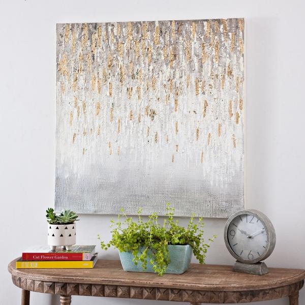 Gold Rush Luxe Canvas Art Print