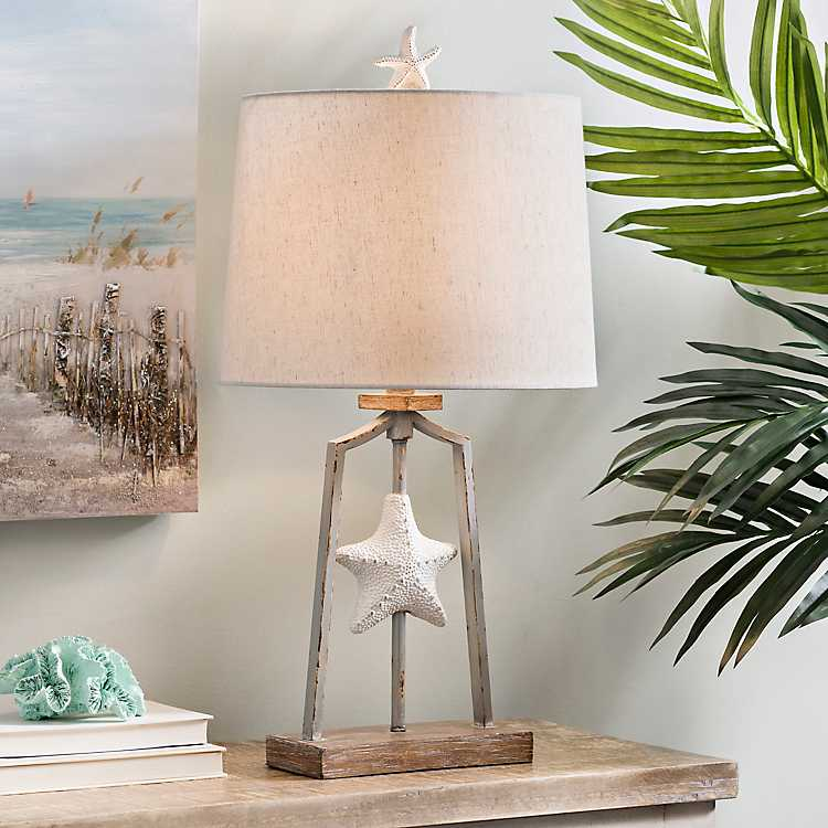 Product Details. Sofia Starfish Table Lamp