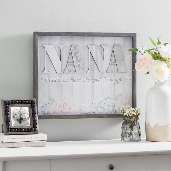 Nana Spoil and Snuggle Shadowbox