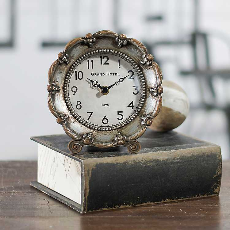Clock Case Accessories Brass Wreath//Scroll Hollow
