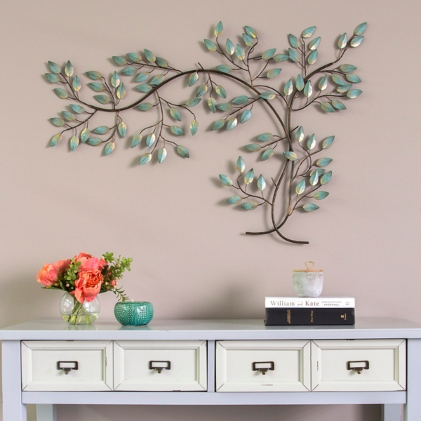 Patina Tree Branch Wall Plaque