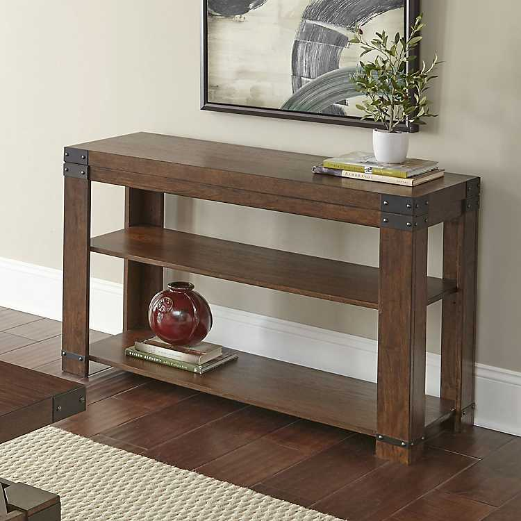 Beau Nolan Cherry Wood Console Table ...