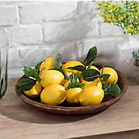 Set of 12 Decorative Lemons