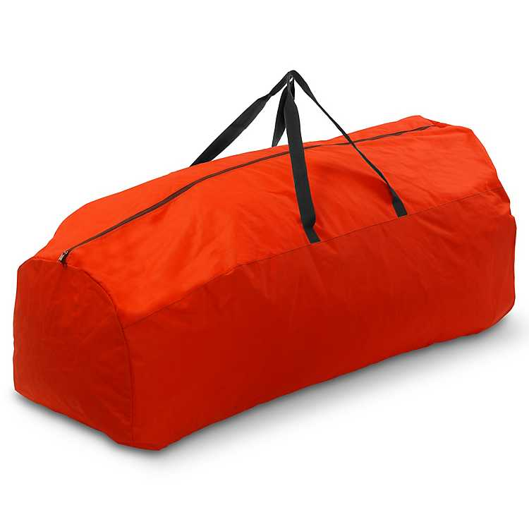 rolling red 9 ft christmas tree storage bag - Rolling Christmas Tree Storage Bag
