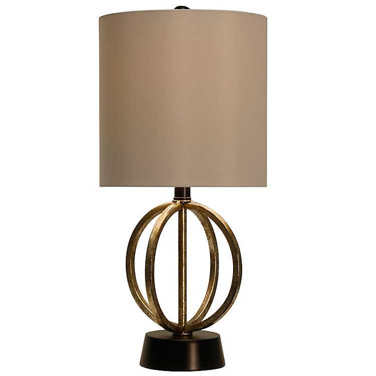 Merveilleux Open Metal Orb Table Lamp ...