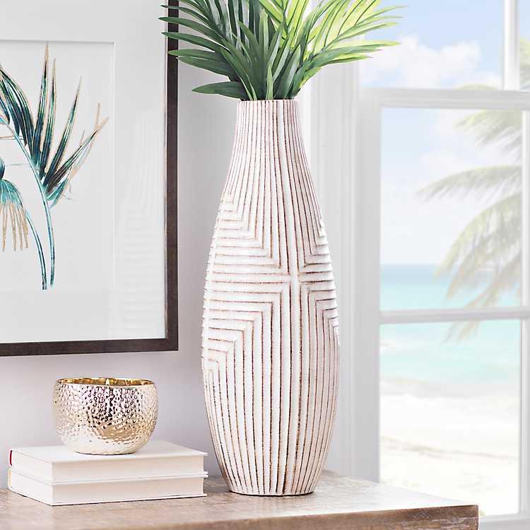Desert Lines Ceramic Vase Kirklands