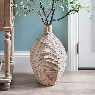 Natural Hyacinth Vase