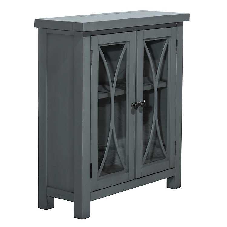 Berlin Robin S Egg Blue 2 Door Cabinet