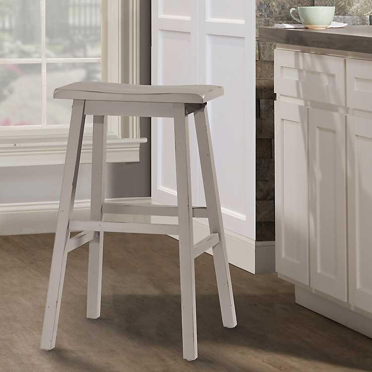 Tremendous Moreno Distressed Gray Counter Stool Spiritservingveterans Wood Chair Design Ideas Spiritservingveteransorg