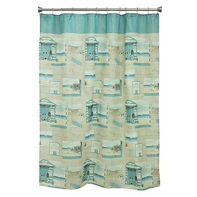 Style Lounge Shower Curtain. Beach Cruiser Shower Curtain Shop Stylish Curtains  Kirklands