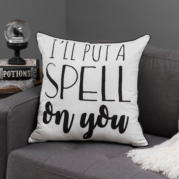 Put a Spell on You Reversible Pillow