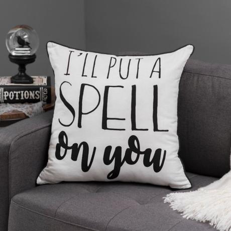 put a spell on you reversible pillow kirklands