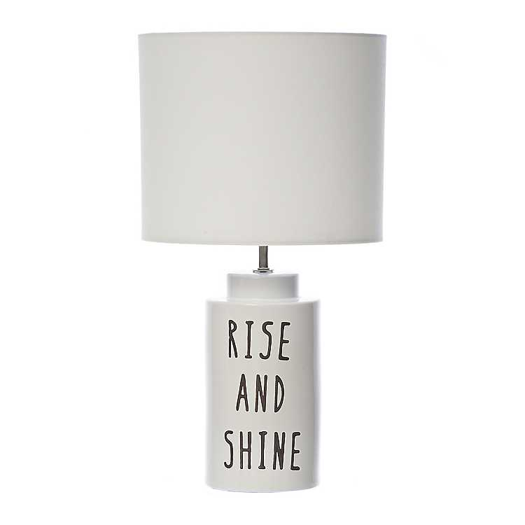 Rise And Shine Ceramic Table Lamp
