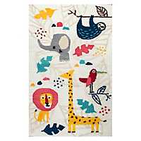 Safari Animal Accent Rug