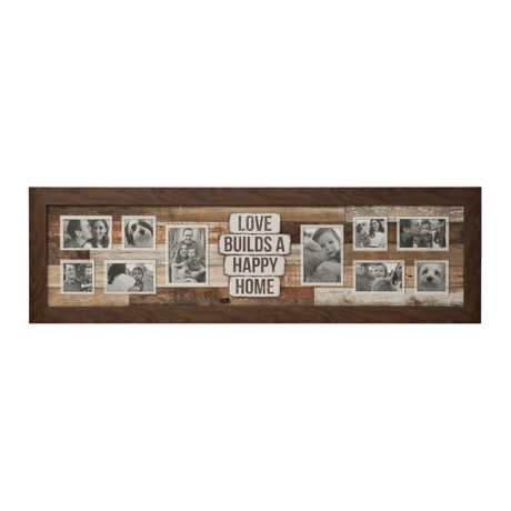 10-Opening Love Builds A Happy Home Collage Frame | Kirklands