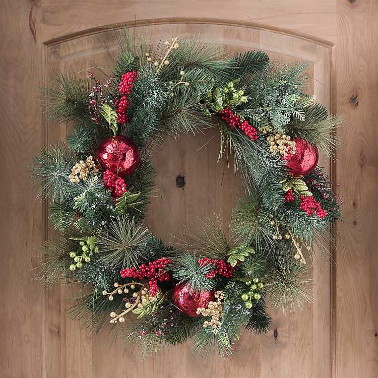so very merry christmas wreath