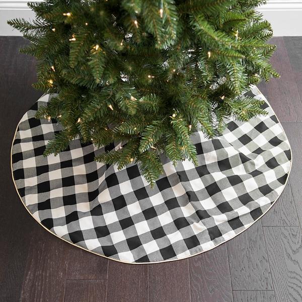 Buffalo Check Christmas Tree Decor.Christmas Tree Decorations Tree Skirts Kirklands