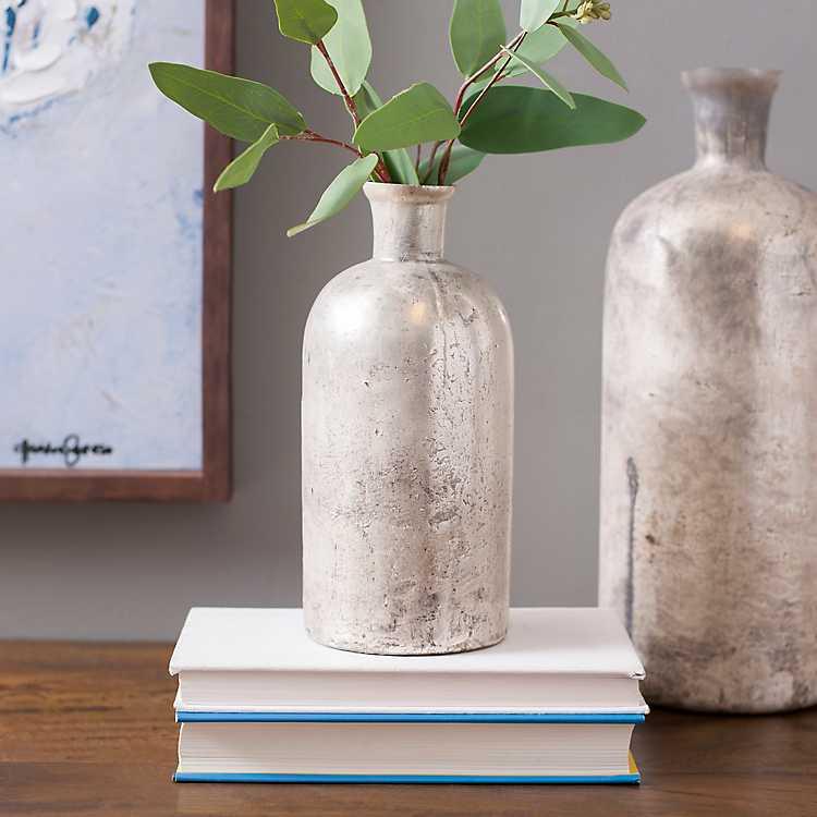 Mercury Glass India Vase 9 In Kirklands