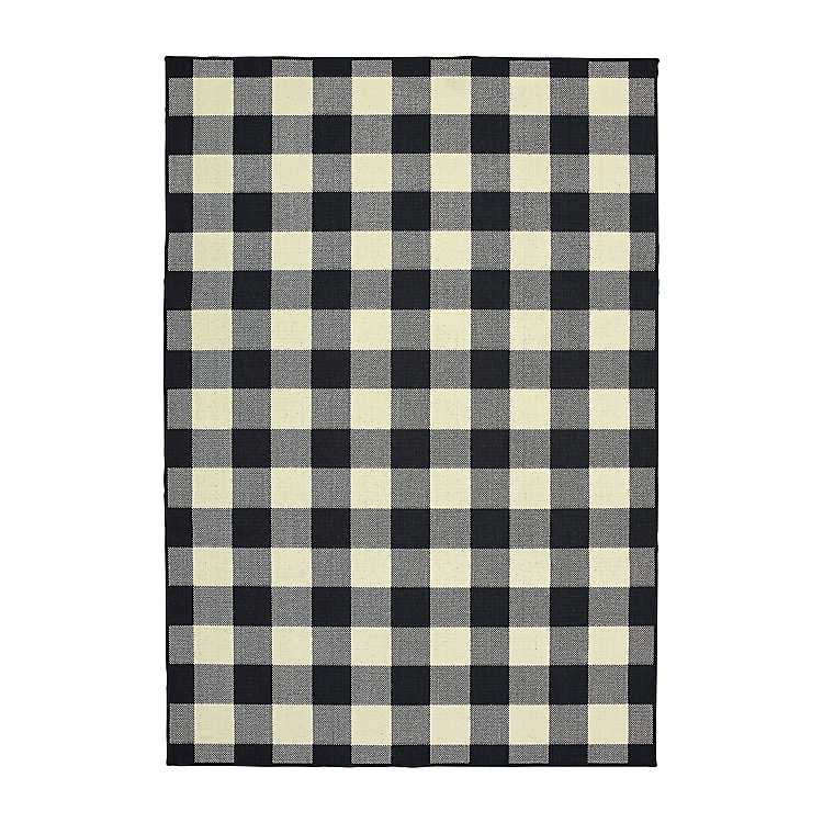 Madura Buffalo Check Outdoor Area Rug
