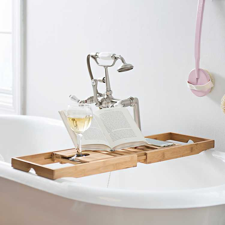 Bamboo Bath Tray | Kirklands