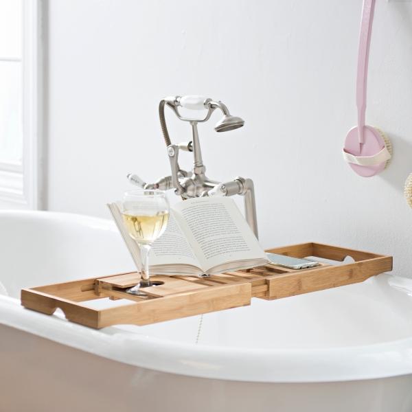 Bamboo Bath Tray