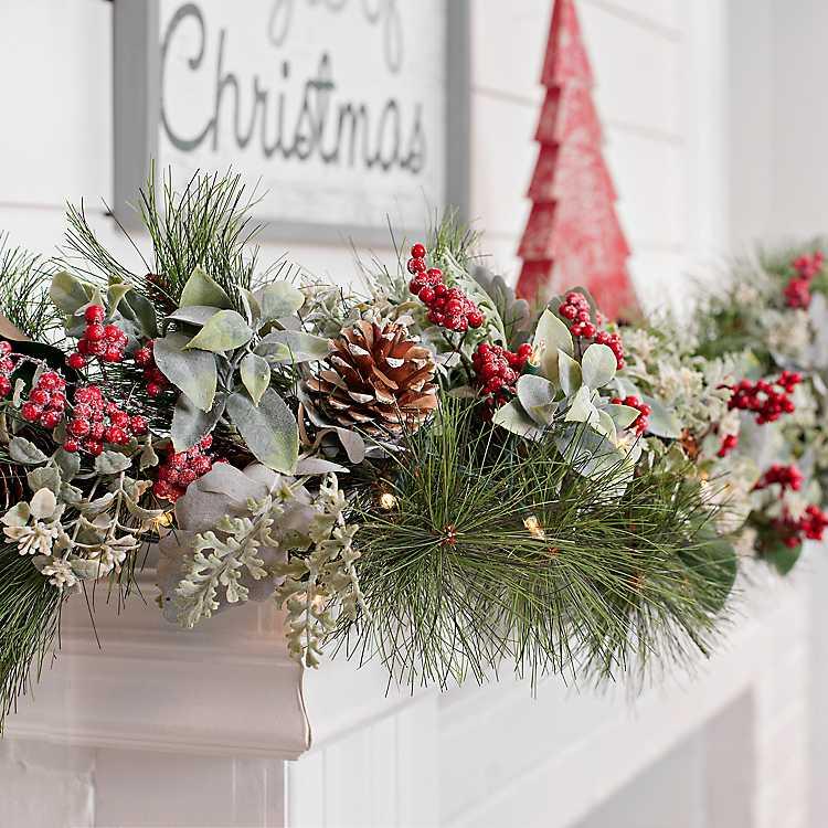 All Through the House Christmas Garland | Kirklands