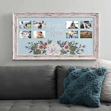 Good To Be Home 8-Opening Collage Frame