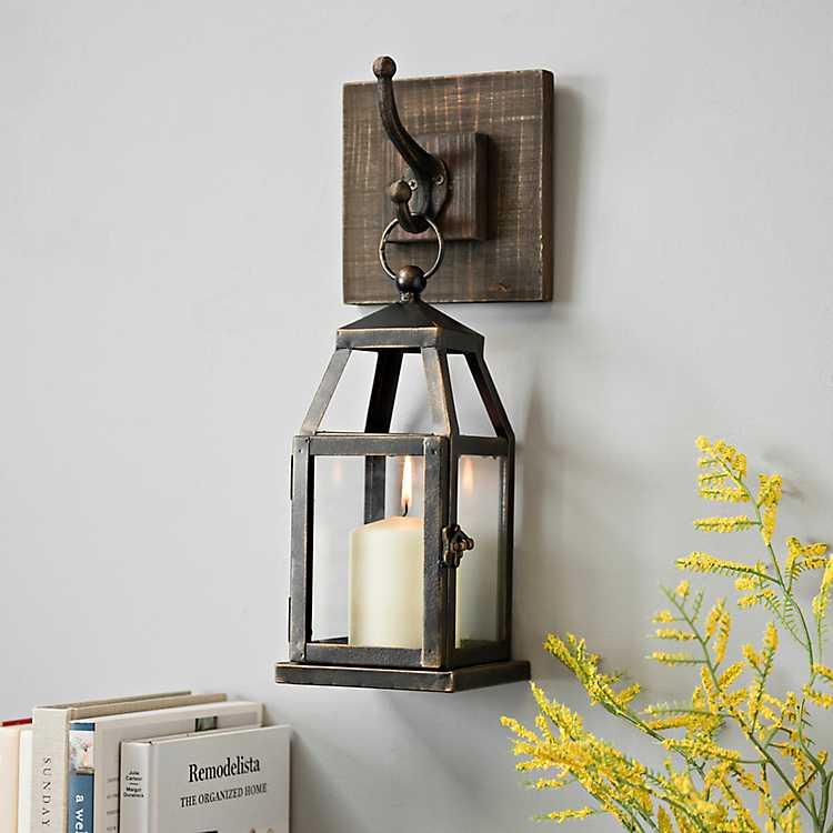 official photos 32cfd c17b4 Hanging Lantern Metal Sconce