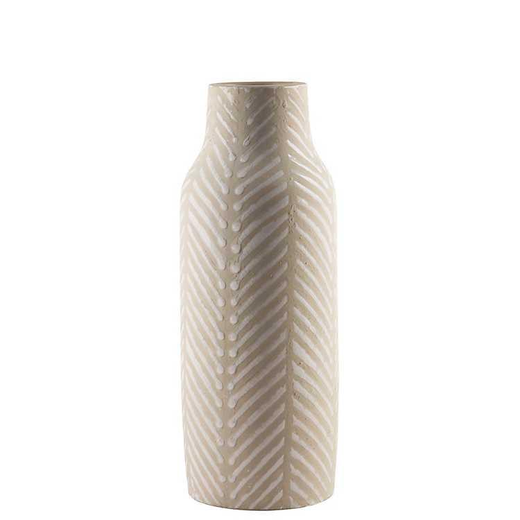 Aztec Stripe Ceramic Vase Kirklands