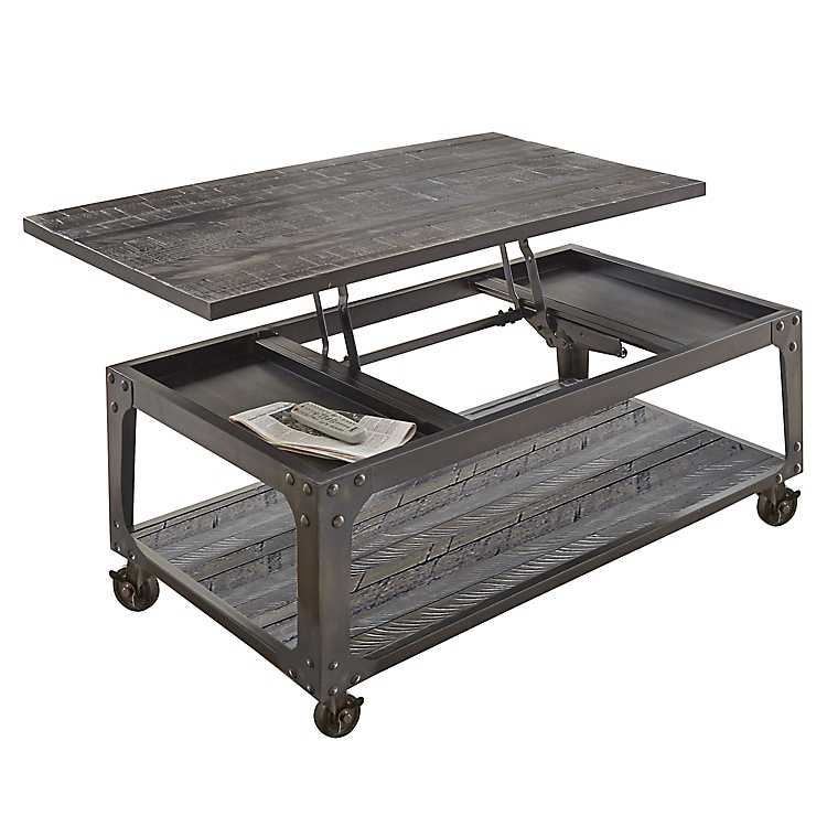 Sheldon Lift Top Coffee Table With Casters