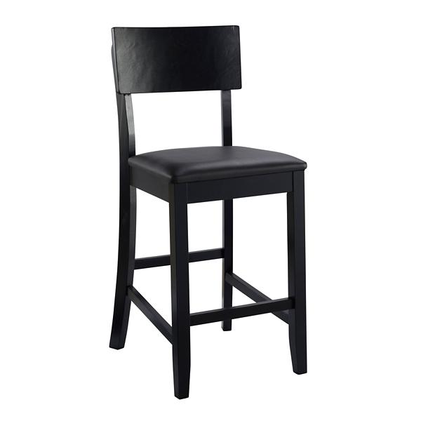 Sensational Tyler Vinyl Seat Black Counter Stool Kirklands Caraccident5 Cool Chair Designs And Ideas Caraccident5Info