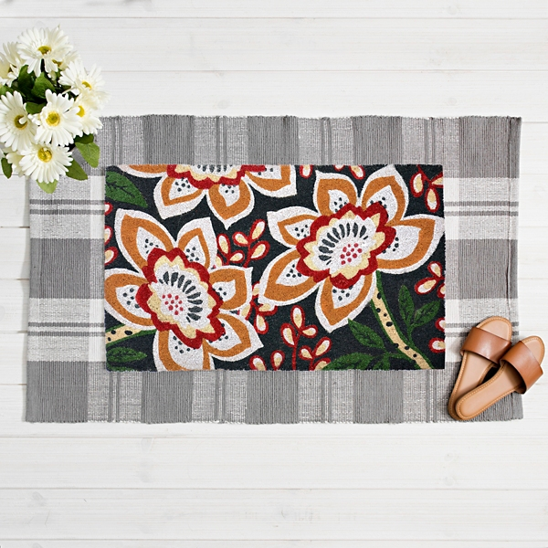 All Over Floral Doormat