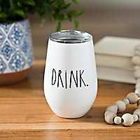 Rae Dunn Drink Stemless Wine Tumbler