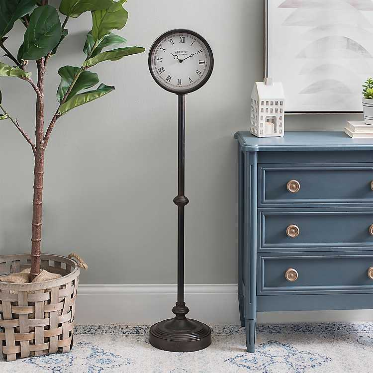 Kimberly Pedestal Floor Clock Kirklands