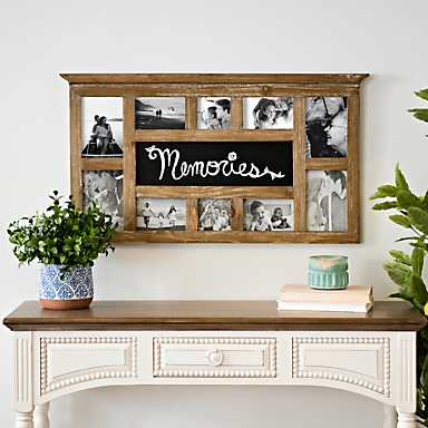 Memories Chalkboard Collage Frame