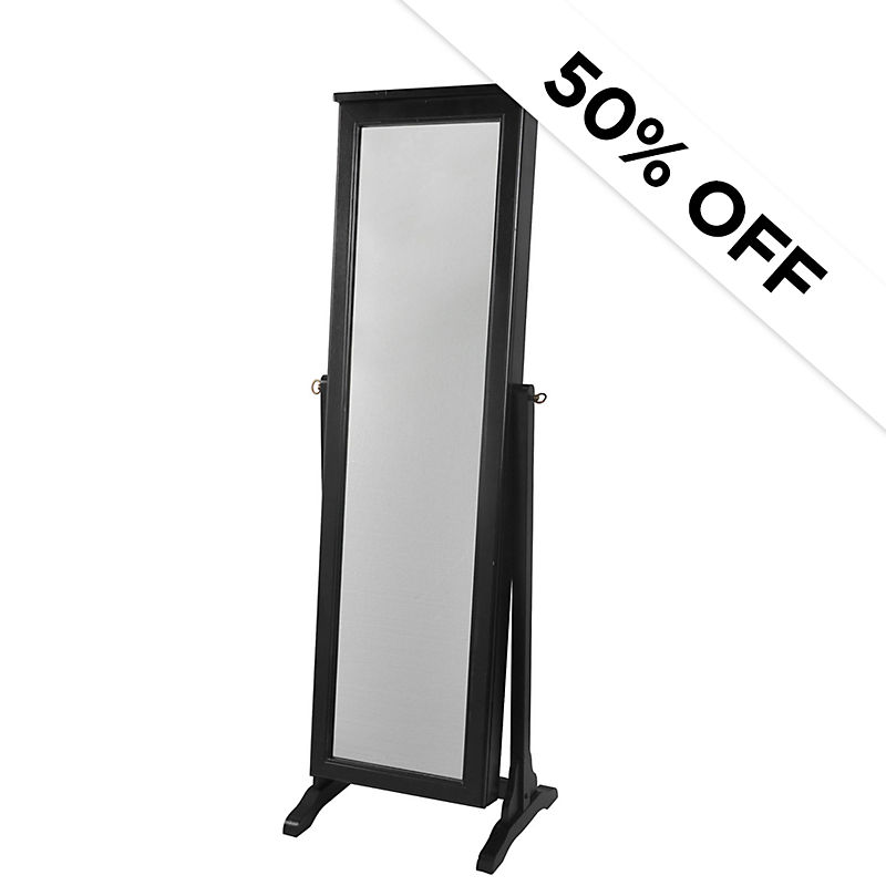 50% Off - Mirrored Jewelry Armoire - Was $299.99 - Now $150.00