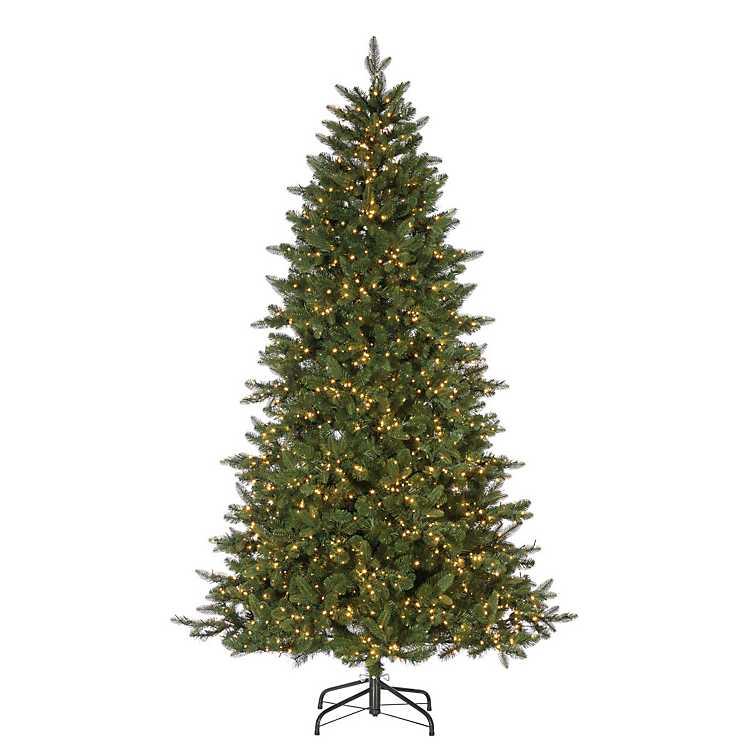 7.5 ft. Pre-Lit Lakeland Fir Christmas Tree | Kirklands